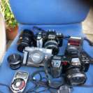 市川市から。 動作未確認 カメラ 数台