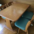 ダイニングテーブルセット【ただいま商談中】