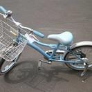 札幌 引き取り ジュニア 子供用 自転車 水色 女の子用 中古品