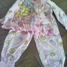 ドキドキプリキュア 長袖パジャマサイズ110