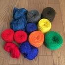 糸まとめてお譲りします⑪(織物、毛糸、手芸など)