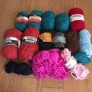 糸まとめてお譲りします⑫(織物、毛糸、手芸など)