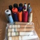 糸まとめてお譲りします⑰(織物、毛糸、手芸など)