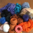 糸まとめてお譲りします⑱(織物、毛糸、手芸など)