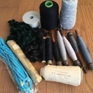 糸まとめてお譲りします⑲(織物、毛糸、手芸など)