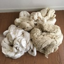 糸まとめてお譲りします㉒(織物、毛糸、手芸など)