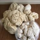 糸まとめてお譲りします㉔(織物、毛糸、手芸など)