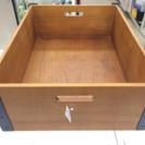ベッキウッドボックス 未使用品 収納BOX アンティーク調 福岡 糸島