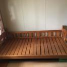 木製ベッド差し上げます
