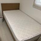 シングル木製すのこベッド