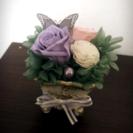 【オーダー可】バラとソラフラワーのアレンジメント☆