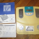 TANITA タニタ体重・体脂肪計 16年前に購入 差し上げます!