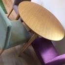 ACTUS 丸テーブル直径90cm (と椅子3脚 別売り)
