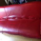 ローテーブルのオマケ付き合皮ソファー