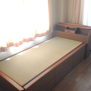 収納付き畳ベッド(シングル)