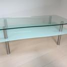 【中古品】スタリッシュガラステーブル