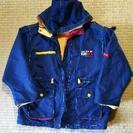 120 紺色のコート