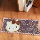 キティ 玄関マット