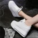 🎀人気‼︎厚底スニーカー ホワイト