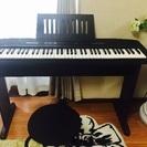 電子ピアノ ピアノ CASIO カシオ 椅子付き! 鍵盤台付き!