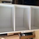 カラーボックス 三段 白