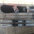 値段下げ、スキー用品