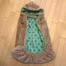 亀の甲 ベビーカー用毛布 冬物