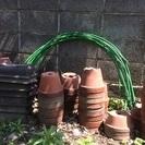 素焼植木鉢 差し上げます