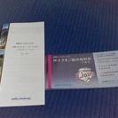 西武HD株主優待券(送料込み)