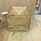 キャスター付き木箱 小 2個セット