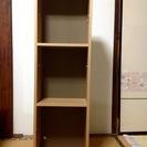 【美品】無印良品の本棚