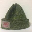 カーキ(緑)ニット帽 売ります