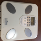 値下げ【タニタ】体重計 体組成計インナースキャン