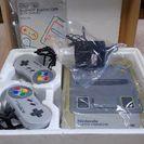 任天堂スーパーファミコンとゲームソフト2本