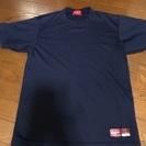 ローリングス アンダーシャツ160紺丸首
