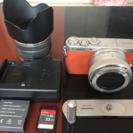 ミラーレスカメラ(LUMIX GM1) おまけ付