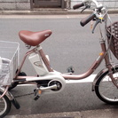 【中古】電動自転車 2010年モデル パナソニック 電動三輪ワゴン...