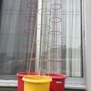 プランター 菜園ポット 支柱付き