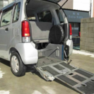 福祉車両 車椅子スロープ ワゴンR 車検付