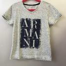☆美品 ARMANI JUNIOR アルマーニジュニア Tシャツ 6A