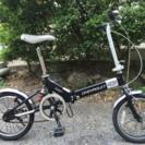 折りたたみ自転車(シボレー、リアサス、16インチ)