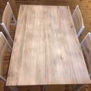 ダイニングテーブルセット(椅子4脚付)
