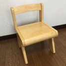 子供用 ウッド調 椅子