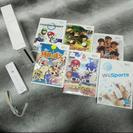Wii 標準セットとソフト6本のセット おまけ多数!