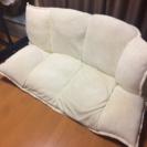 ふあふあの白いソファ 美品