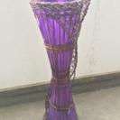 籐製アジアンムードランプ
