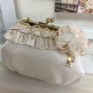 ★美品★ 結婚式、フォーマル用 小物入れ バッグ