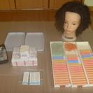 美容師国家試験用ウィッグ、小物類