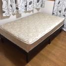 ニトリ購入 セミダブル ベッド+マットレス