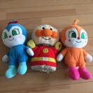 アンパンマンの仲間人形セット